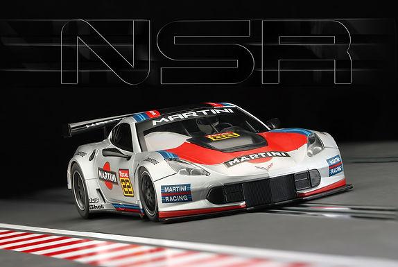 NSR-0159AW Corvette C7R Martini #22