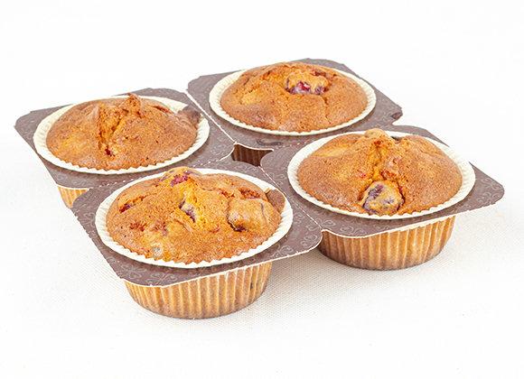 Cherry Muffins x4