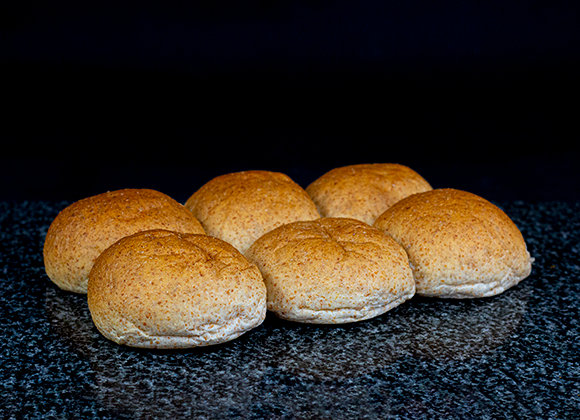 WHOLEMEAL ROLLS X6