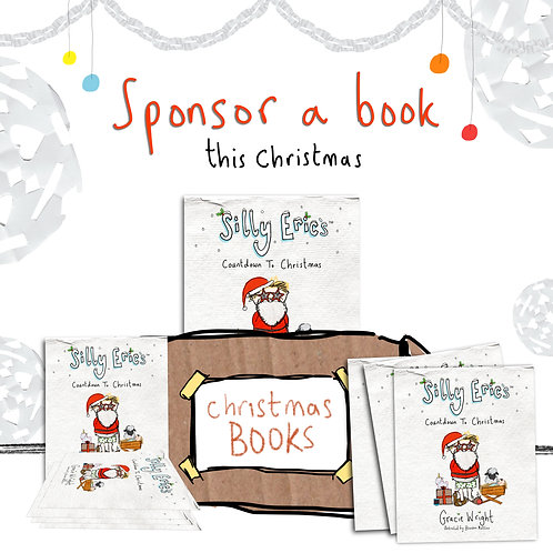 Sponsor the Silly Eric Books for East Anglia Food Bank