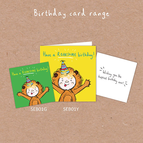 Have a ROARSOME BIRTHDAY DEAL!