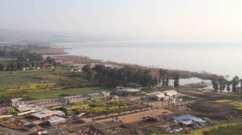 Vista aérea de Magdala
