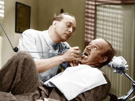 Medo de dentista? Não, senhor!
