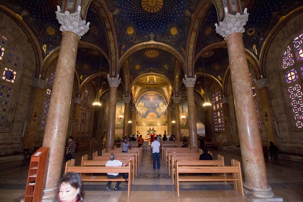 Interior da Igreja da Agonia