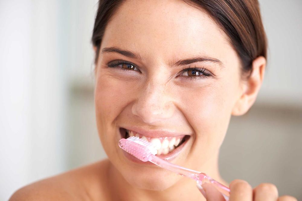 Higienize seus dentes