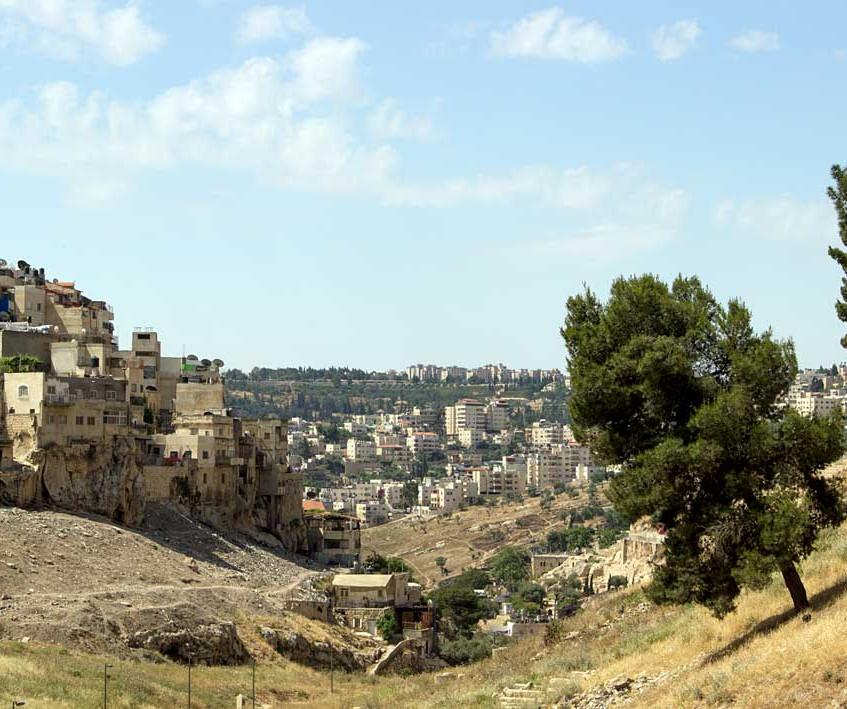 Sul do Vale de Kidron