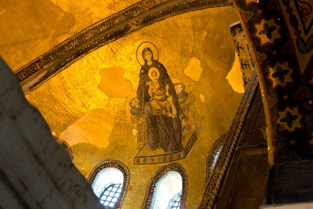 Pintura em Ayasofya