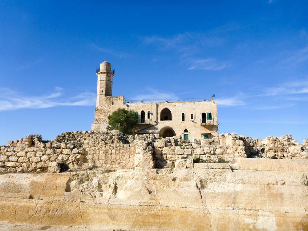 Túmulo do profeta Samuel, Israel.