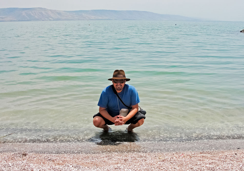 Kinneret, o Mar da Galiléia