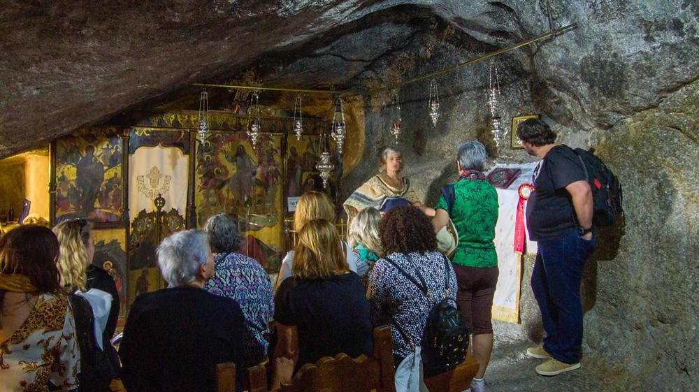 Caverna do Apocalipse, Patmos.