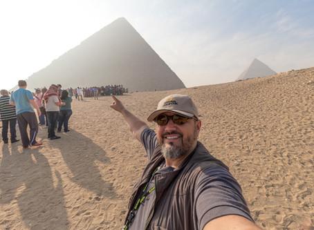 Primeiro veio o Egito, depois veio a história!