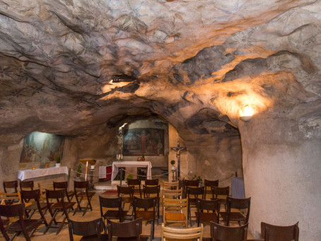 Monte das Oliveiras: GRUTA DO GETSÊMANI