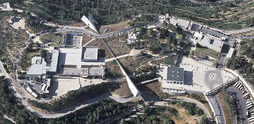 Yad Vashem, vista aérea.