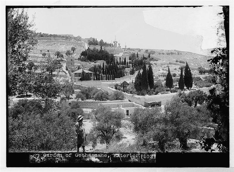 Getsêmani no século IX