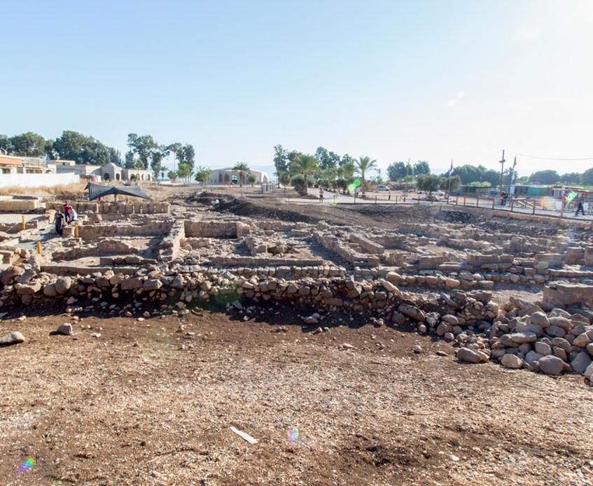 Ruínas da Cidade de Magdala