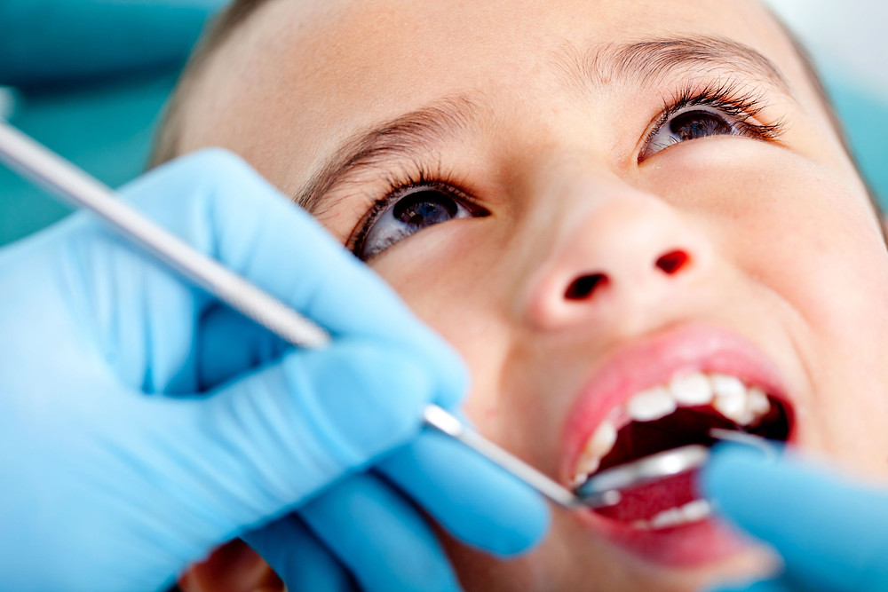 Tratamento de canal em criança