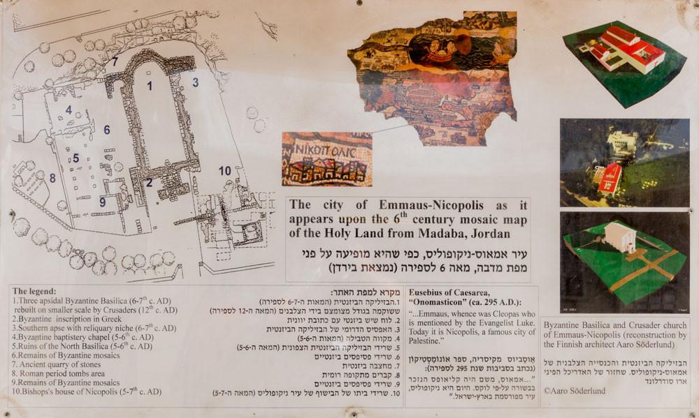 Mapa de Emaús