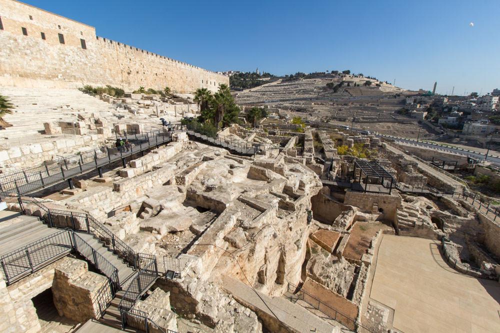 Colina de Ophel em Jerusalém