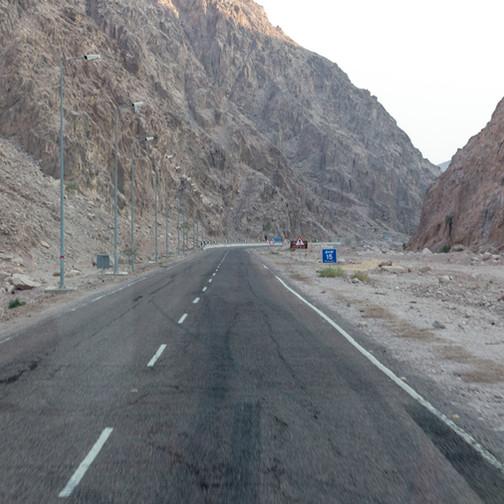 Caminho dos Reis, Nuweiba Egito 2017