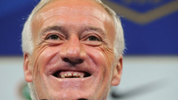Didier Deschamps dentes