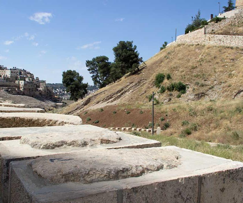 Antiga tumba no Vale do Kidron