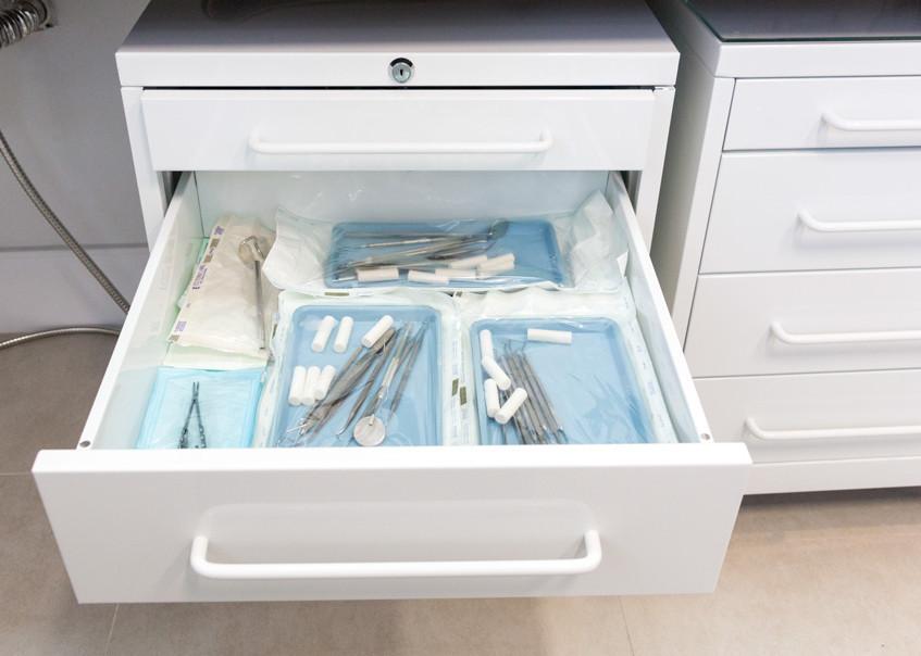 Instrumentais esterilizados