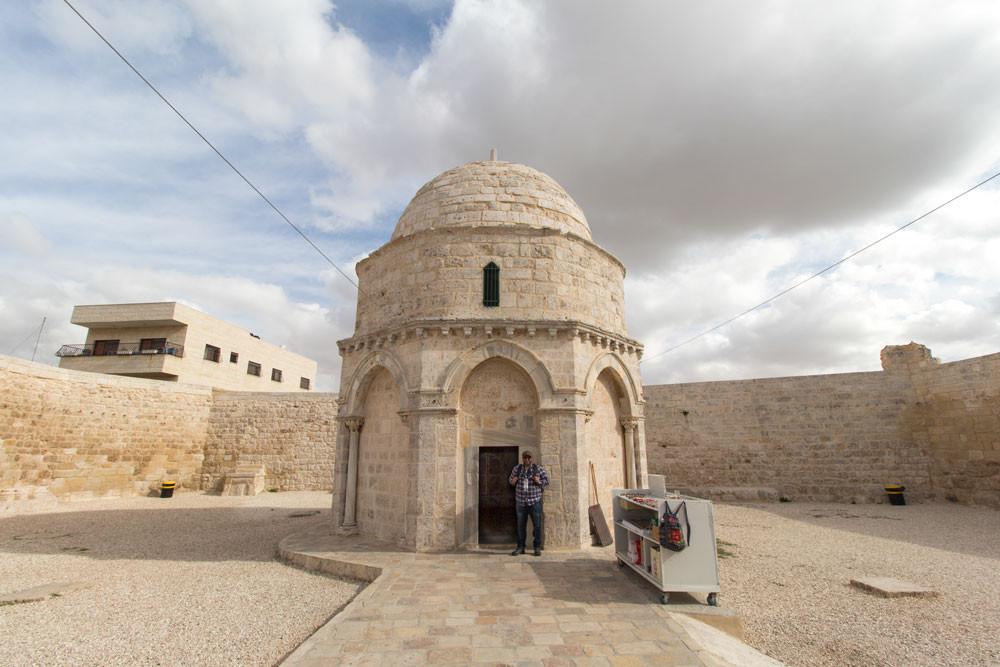 Capela da Ascensão, Jerusalém, 2015