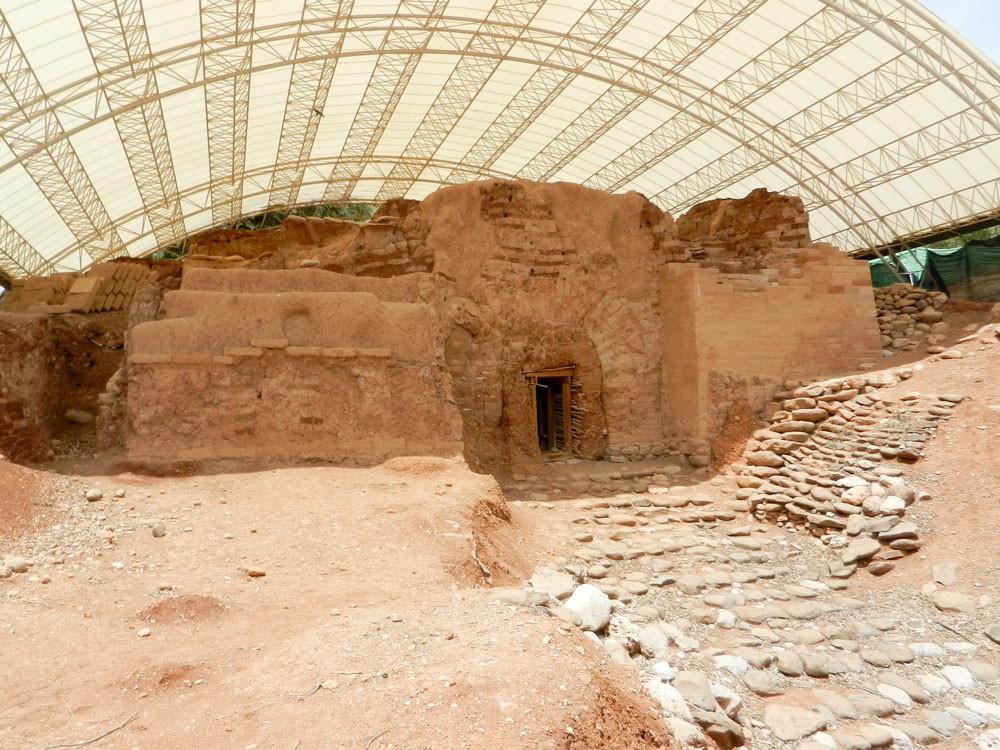Sítio Arqueológico de Tel Dan, Israel.