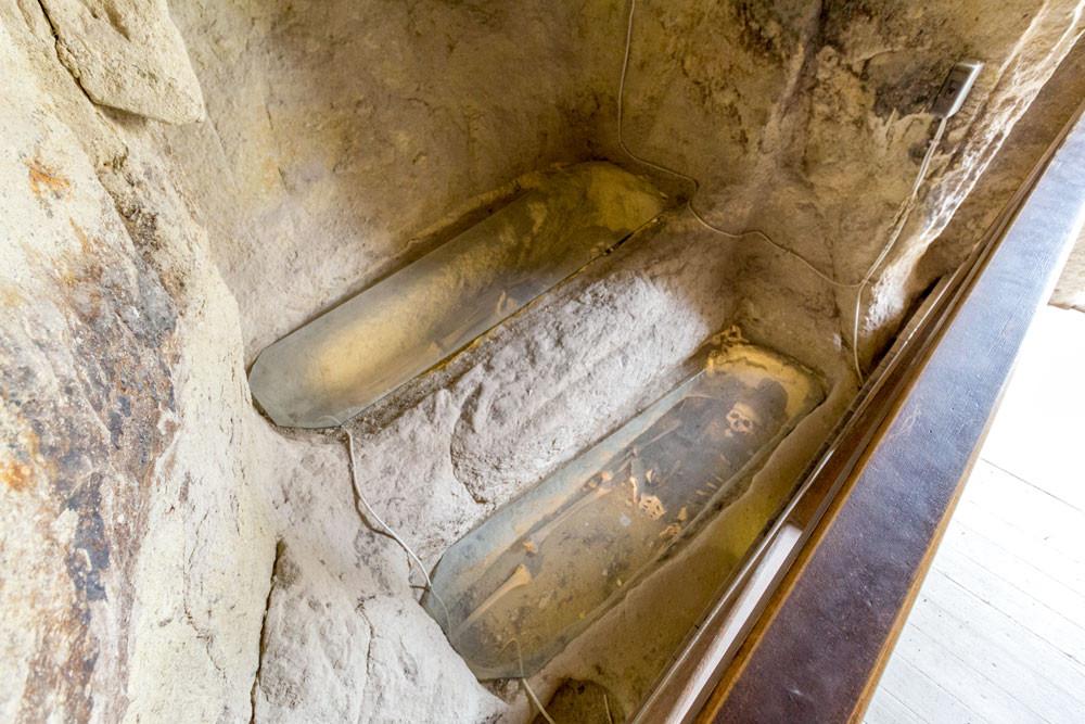 Restos Mortais de cristãos primitivos na Capadócia