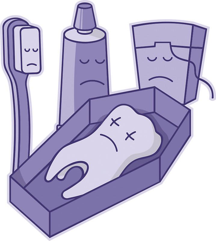 Morte do dente