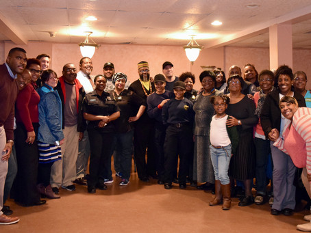 Project Longevity New Haven and the New Haven Police Department joined with the Christian Love Cente