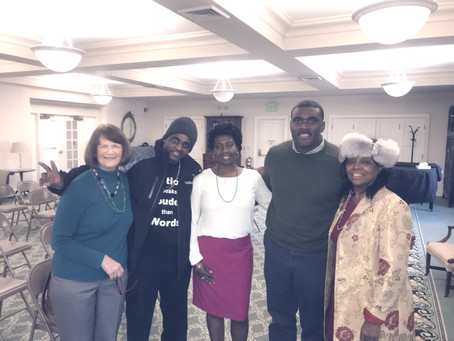 Project Longevity, H.Y.P.E, and MUAV spoke at the Asylum Hill Congregational Church's Building C