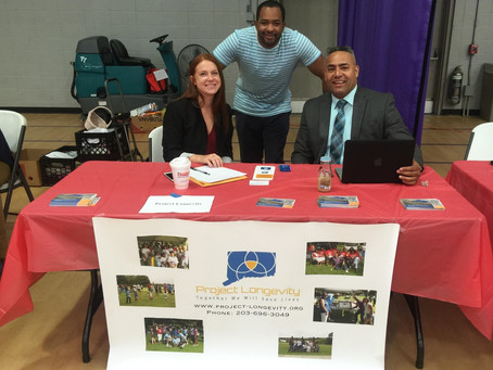 Project Longevity Bridgeport at the  Annual Project Homeless Connect Event