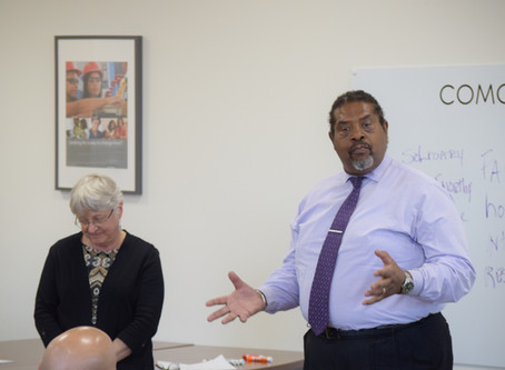 Project Longevity New Haven, the Urban League of Southern Connecticut and the New Haven Police Depar
