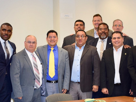 Honduran National Police Force visits the New Haven Police Department to learn the Project Longevity