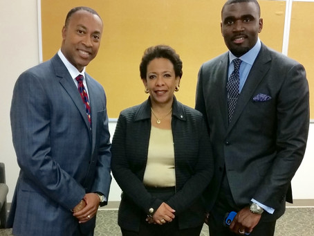 U.S. Attorney General Loretta Lynch Visits East Haven to Discuss Policing