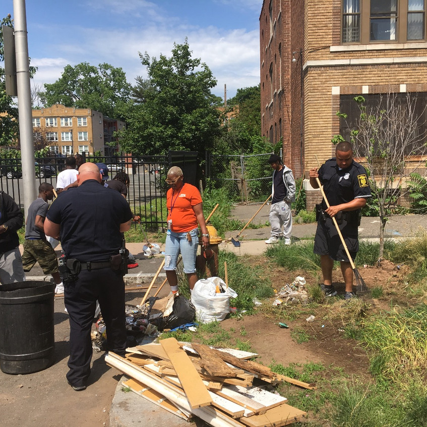 Hartford Community Clean Up