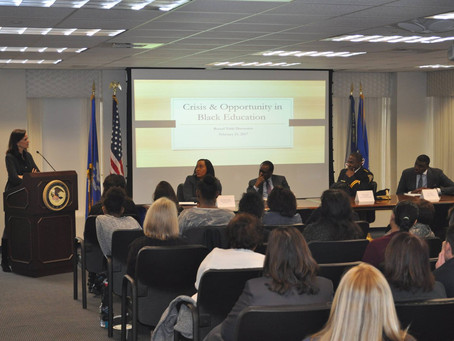 U.S. Attorney's Office for the District of Connecticut Crisis and Opportunity in Black Education