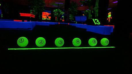 Glow Putt Mini Golf Balls