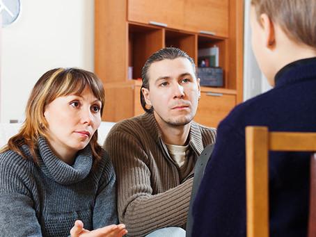 Breaking The News Of Divorce To Children