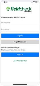 FieldCheck App