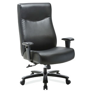 Big and Tall Executive Chair with Black Frame
