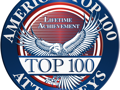 Petroff Law Offices Selected America's Top 100 Attorneys