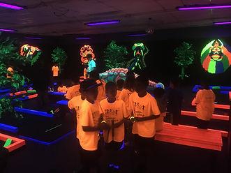 Glow Putt Mini Golf Private Party