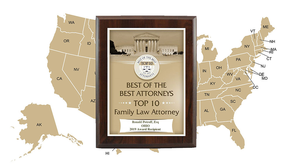 2019 Best of the Best Top 10 in Ohio For Family Law
