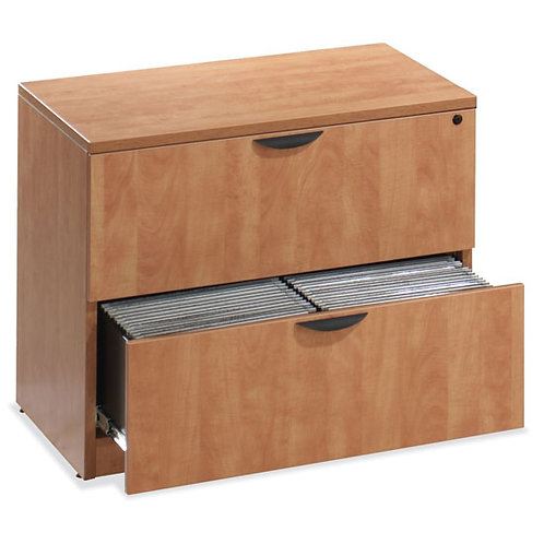 Office Source Laminate Lateral File 2-Drawer