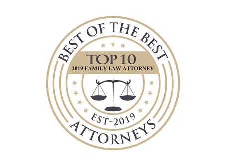 Best of the Best Top 10 Family Law Attorney Award