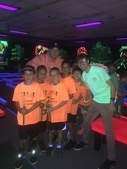 Glow Putt Mini Golf Teams & Schools
