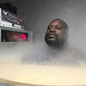 Shaq shows some cryotherapy love on Instagram