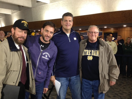 Veterans from Robert L. Miller Sr. Center Enjoy ND Experience